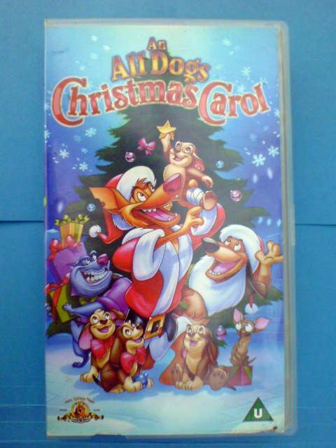an all dogs christmas carol video cert u - All Dogs Christmas Carol